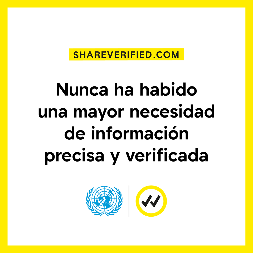 Verificado (Verified): el mundo contra la pandemia de desinformación