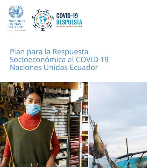 Portada del Plan para la Respuesta Socioeconómica al COVID 19
