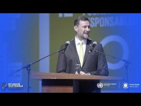 #EcuadorSostenible - Intervención de Arnaud Peral
